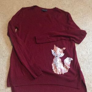Limited Fox sweater